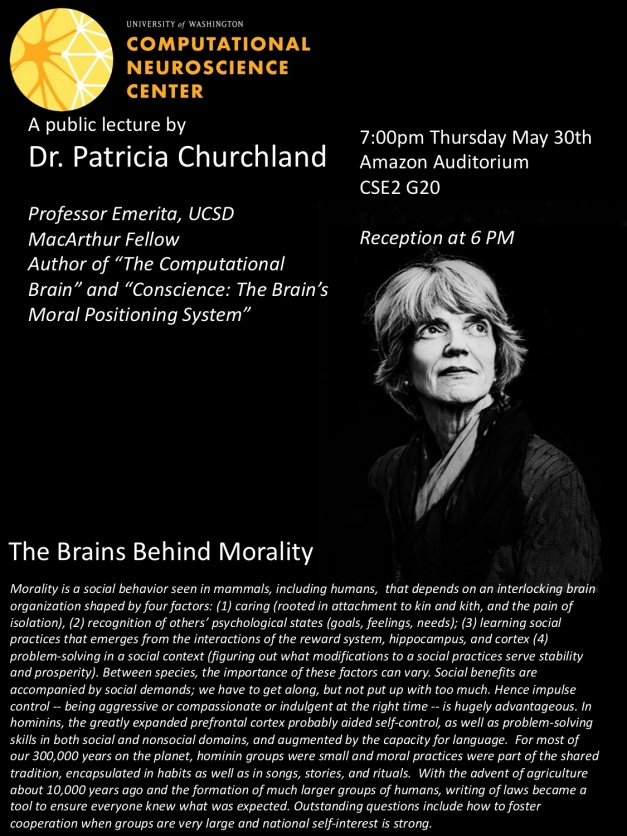 PatriciaChurchland lecture