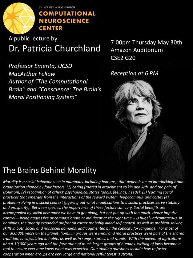 PatriciaChurchland lecture